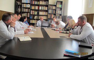 Ședința de consfătuire a conducerii cu subdiviziunile CML