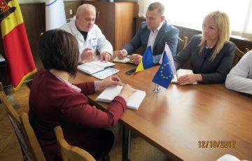 12.10.2017 Vizita Dlui Grigore MOGA, șef Direcție generală urmărire penală IGP al MAI, urmată de o ședință de lucru cu conducerea CML și șefii de subdiviziuni privind lacunele identificate în conlucrare