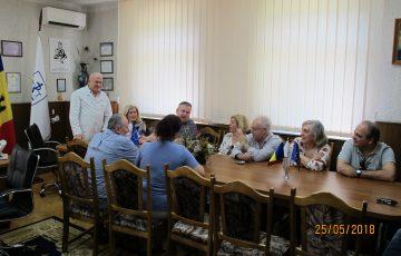 25.05.2018 Vizita unui grup de medici și experți medico-legali din Portugalia.